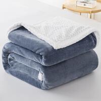 冬季毛毯加厚珊瑚绒毯子保暖床单双层法兰绒被子学生单人