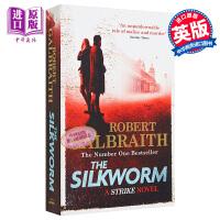 神探斯特莱克第二部 蚕 电视版 英文原版 英剧小说 Cormoran Strike Book2 The Silkwor
