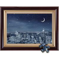 唯美伦敦夜景 木质拼图500/1000/1500片学生儿童益智玩具礼品