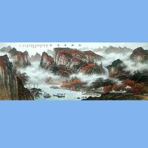 中国美术协会会员,广西省美术家协会理事,国家一级美术师蒋清(江秋云意图)
