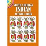 North American Indian Activity Book(【按需印刷】)