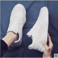 港风小白鞋男士板鞋韩版潮流百搭纯色男鞋子运动学生休闲鞋潮鞋