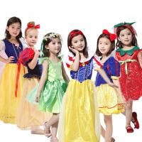 六一儿童节日 儿童化妆舞会服装 白雪公主 仙子裙服装