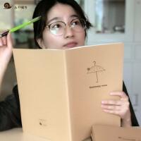 A4康奈尔笔记本牛皮纸考研文具方格5R高效笔记法考虫学霸错题本方格本英语本通用横线本