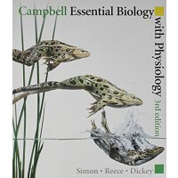 【预订】Campbell Essential Biology with Physiology with Coursec