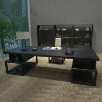 新中式办公桌现代禅意实木单人创意家具