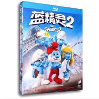 正版现货包发票3d蓝光碟蓝精灵2/蓝色小精灵2 1080P高清3D蓝光dvd电影