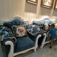 欧式布艺沙发客厅整装现代简约小户型双人三人北欧家具简欧 1++3沙发
