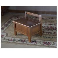 储物凳子收纳凳换鞋凳门口换鞋凳沙发茶几穿鞋矮凳简约现代实木