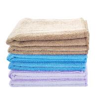 时尚多功能细纤维方巾擦拭巾 抹手巾洗碗抹布 柔软吸水好用毛巾