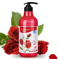 A'Gensn/安安金纯 橄榄油玫瑰精油香浴乳750g
