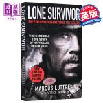 【中商原版】孤独的幸存者 英文原版 Lone Survivor 马库斯鲁特埃勒影视小说
