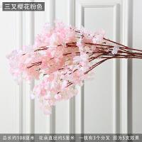 仿真樱树藤花藤条许愿树假樱花树室内客厅装饰桃花树婚庆装饰