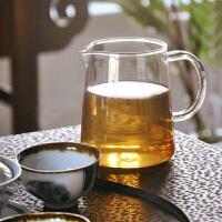 玻璃杯 茶道茶�~260ML高硼硅耐�岵AР杈� 茶海公道杯 玻璃茶杯
