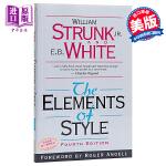 【中商原版】风格的要素 第四版 英文原版 Elements of Style William Strunk Jr. P