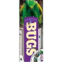 Fandex Family Field Guides: Bugs 趣味卡片书:虫子 ISBN9780761154143
