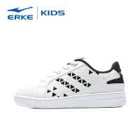 【3件3折到手价:71.7元】鸿星尔克(ERKE) 童鞋板鞋儿童小白鞋运动鞋 男童滑板鞋耐磨防滑休闲鞋基础款学生鞋