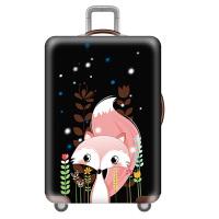 行李箱保护套旅行箱拉杆箱套防尘罩20/24/28/30寸加厚弹力耐磨