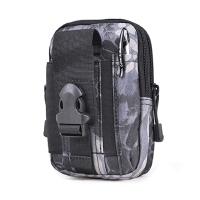 户外运动迷彩手机腰包钱包多功能腰包6寸大屏手机穿皮带挂包