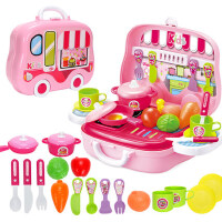 儿童过家家厨房玩具套装仿真厨具宝宝男孩女孩子煮饭做饭玩具女童