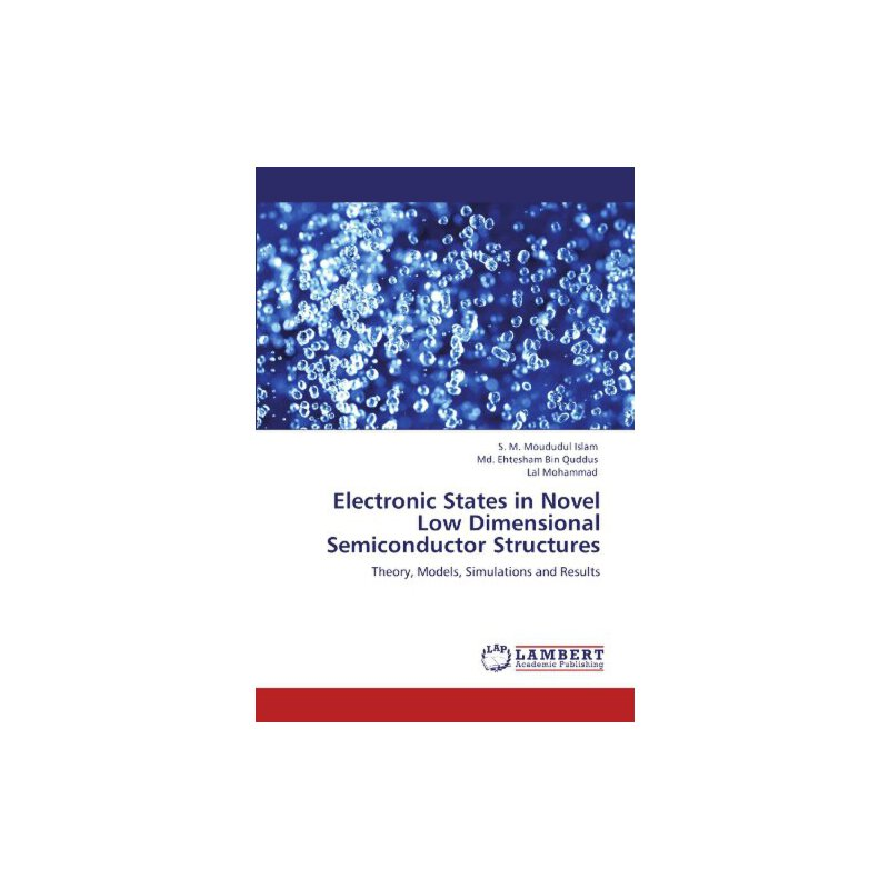Electronic States in Novel Low Dimensional Semiconductor Structures: Theory, Models, Simulations and Results [ISBN: 978-3844380651] 美国发货无法退货,约五到八周到货
