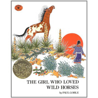 【中商原版】野马之歌 英文原版 The Girl Who Loved Wild Horses 1979年凯迪克金奖故事