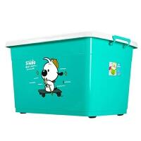 塑料收纳箱装衣服大号加厚大容量储物盒家用整理箱子汽车后备箱杂物收纳用品 套餐 120L 170L 170L(3个装)