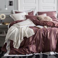 欧式贡缎提花棉四件套婚庆床上用品被套床单纯棉床品套件