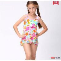 户外水上儿童泳衣 韩国女孩连体防晒速干可爱宝宝女童游泳衣