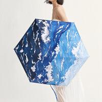蕉下海洋胶囊伞太阳伞防晒防紫外线雨伞女晴雨两用折叠遮阳伞便携