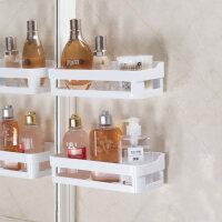 浴室肥皂盒吸盘壁挂沥水卫生间香皂架免打孔创意置物架肥皂架双层