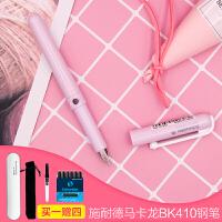 德国进口施耐德小清新钢笔女生专用BK410小学生练字可换墨囊钢笔