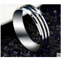 戒指尾戒饰品霸气男士戒指 韩版钛钢戒子男时尚尾戒食指环单身个性饰品