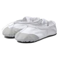 儿童休闲舞蹈鞋练功鞋软底 女童跳舞皮头芭蕾舞鞋瑜伽猫爪鞋