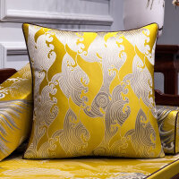 中式沙发布艺抱枕靠垫客厅家用靠包1165床头大靠枕套含芯腰靠背