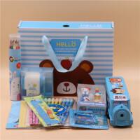 初中小学生学习用品 新年圣诞礼品文具套装礼盒生日大礼包奖品礼物
