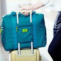 韩版防水尼龙折叠式旅行收纳包 旅游收纳袋 男女士衣服整理袋 绿色