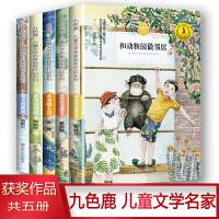 九色鹿・儿童文学名家获奖作品系列 套装共5册 雪人的歌声 老虎的奶娘 金海螺小屋 孩孩的幸福时光 和