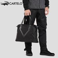 卡帝乐鳄鱼旅行包男手提运动健身包男士大容量行李包出差单肩旅行袋