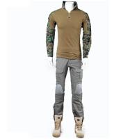 户外秀ianAT-FG青蛙紧身衣CP战术迷彩裤模具套服丛林军绿迷彩套装