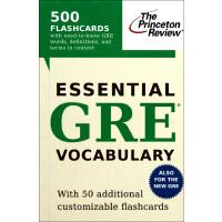 【预订】Essential GRE Vocabulary (Flashcards)