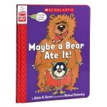 【中商原版】Maybe a Bear Ate It! 也许是熊吃了它 精装 学乐角色扮演互动书