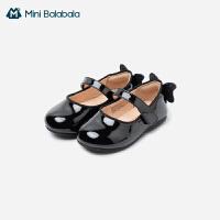 迷你巴拉巴拉女童时装鞋2021春新品鞋子