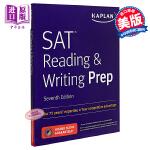 【中商原版】卡普兰新SAT备考 阅读和写作 SAT Reading & Writing Prep 英文原版 卡普兰新
