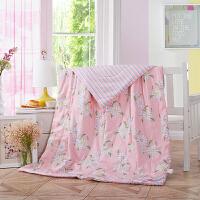 当当优品空调被 全棉印花水洗夏凉被单人午睡被150*200cm