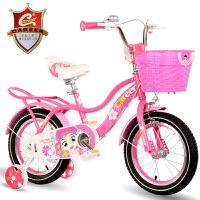 新款儿童自行车18寸上海永久麟龙摩托车有限公司14寸女孩童车单车