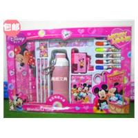 迪士尼儿童文具礼盒豪华米奇保温水壶套装礼盒Z87992 .