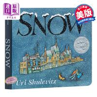【中商原版】凯迪克:雪地 英文原版 snow uri shulevitz