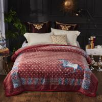 君别仿羊毛毛毯云毯保暖防寒毯披肩毯午睡毯毛毯婚庆毯法兰绒毯子多用盖毯 200cmx230cm