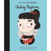 【现货】小女孩,大梦想:奥黛丽・赫本 Audrey Hepburn 英文原版 精装绘本 名人传记 Little Peo